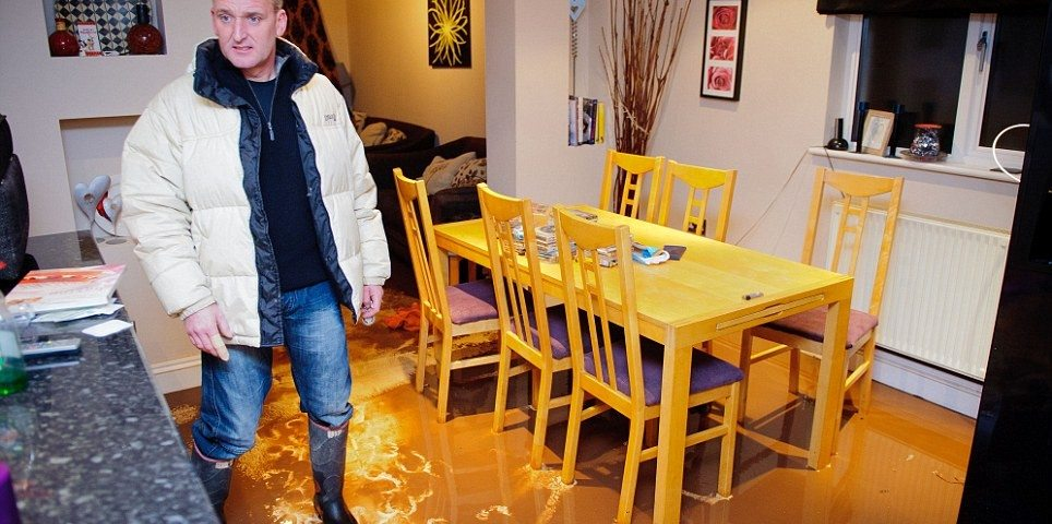 rain water flooding